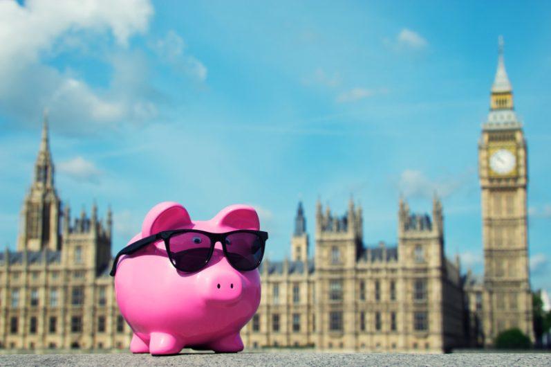 piggy bank london budget