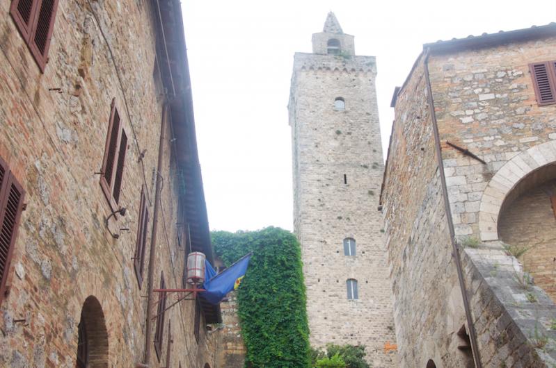 San Gimignano kuleleriyle ünlü bir kasaba