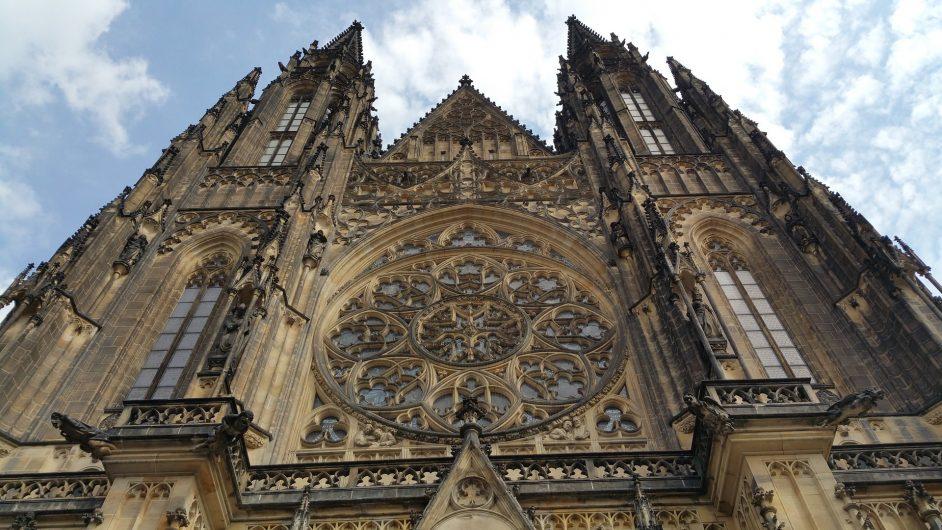 St.Vitus Katedrali gotik mimarinin en güzel örneklerinden biri