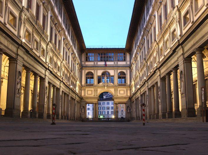 Uffizi Müzesi'nde birbirinden değerli eserler sizi bekliyor.