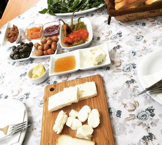 Naga Putrika kahvaltı