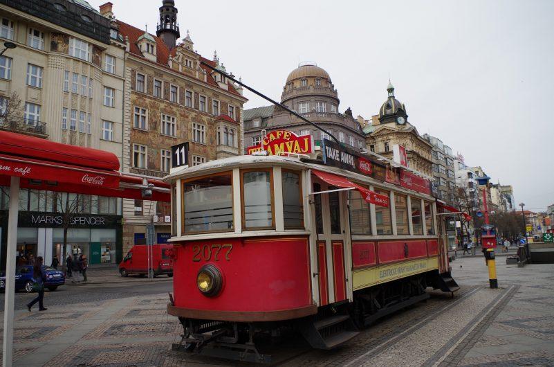 Prag'da tramvaya binerek görülmesi gereken yerleri kolayca gezebilirsiniz