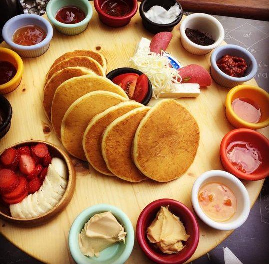 Kahvaltıda krep yemeyi seviyorsanız Munchies&Crepe tam size göre