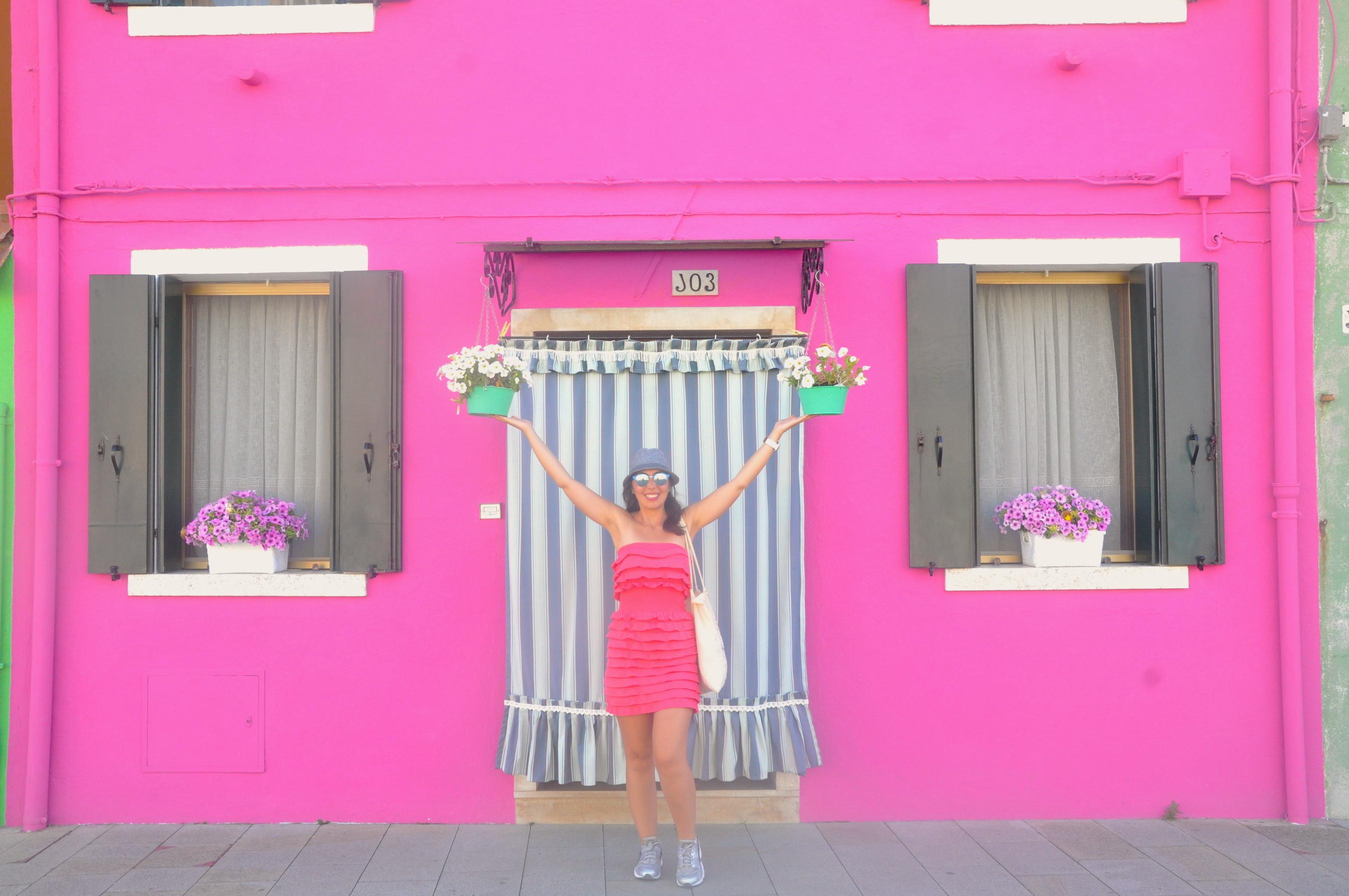 burano adasi renkli evler 1