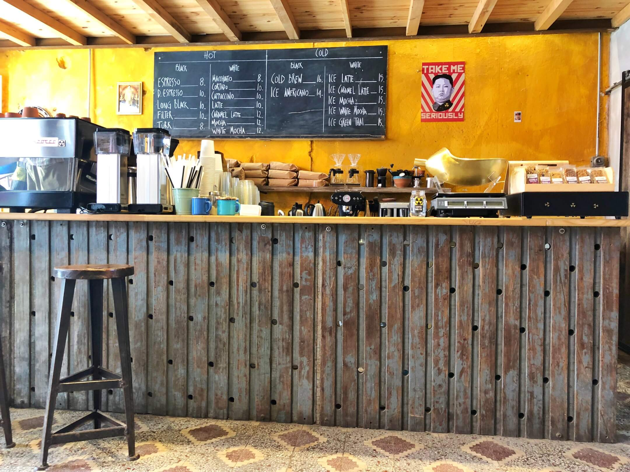Bozcaada kahve Coffee Shelter