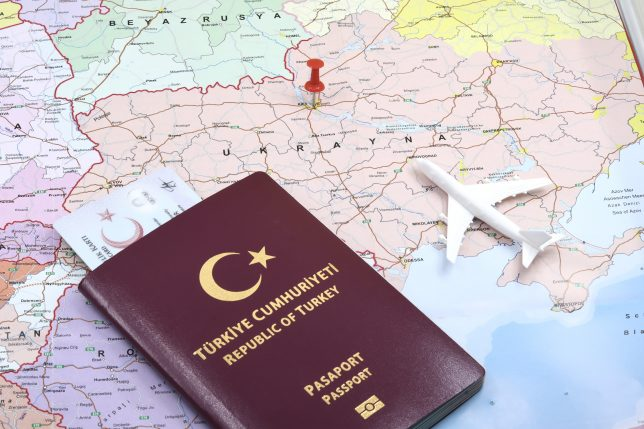 Turkiye cumhuriyeti pasaportu